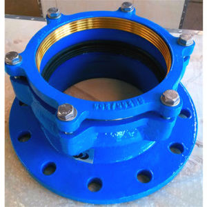 Restraint Flange Adaptor for PVC Pipe and PE Pipe pictures & photos