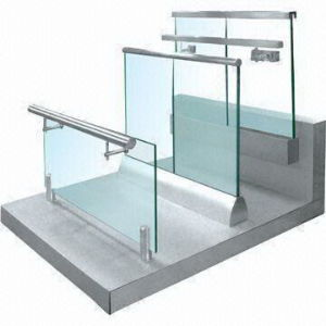 Modern Design Frameless Glass Balustarde with Aluminum Base Channel pictures & photos