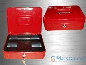 Lockable Cash Box with Tray /Money Box (A Series) pictures & photos