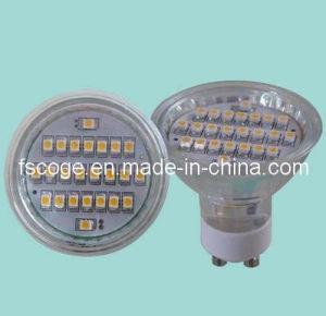 GU10 24PCS 3528 SMD LED Lamp (CG-GU10S24HP1)
