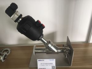Thread Type Pneumatic Stainless Stee Angle Seat Valve with Plastic Actuator with Position Indicator