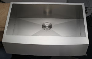 Ss304 Brushed Handmade Kitchen Sink
