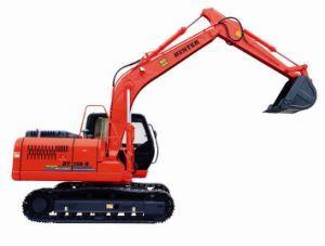Hengte Wheel Hydraulic Excavator with Medium Bucket (HT150-8) pictures & photos