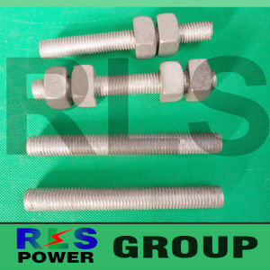 Hot DIP Galvanized Bolt and Nuts for Fasteners in High Quality Overhead Power Fittings