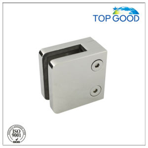 Stainless Steel Square Type Glass Clamp for Glass Railing System pictures & photos