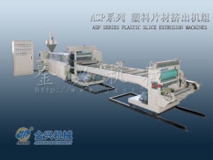 Plastic Sheet Extrusion Machine (ASP105-660) pictures & photos