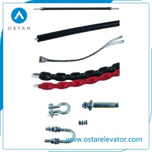 Full-Plastic Flex Fire-Retardant Elevator Compensating Chain, Lift Blance Chain pictures & photos