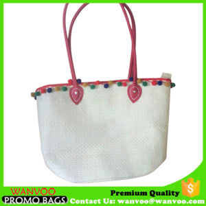 Young Lady Beach Straw Tote Bag in Factory Price pictures & photos