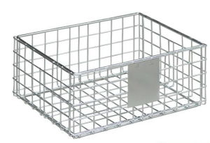 Slatwall Display Shelf Wire Basket pictures & photos