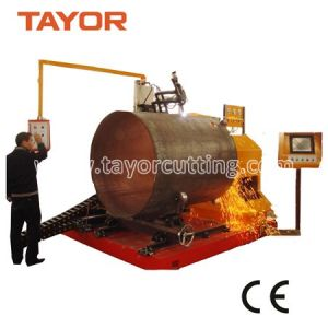 CNC Metal Pipe Cutter, CNC Plasma Pipe Cutter, Big Pipe Plasma Cutter pictures & photos