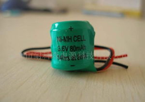 Naccon Ni-Mh Rechargeable Battery Packs with Line (BH80mAh 3.6V) pictures & photos