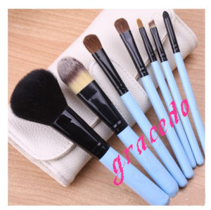 7 PCS Cosmetic Makeup Brush Set with Beautiful Color (YMF390)