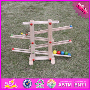 2016 Wholesale Kids Wooden Rail Toy, Funny Baby Wooden Rail Toy, High Quality Children Wooden Rail Toy W04e002 pictures & photos