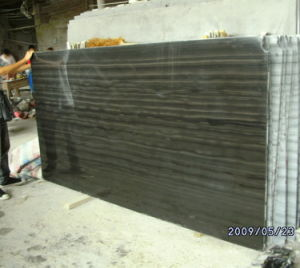 Serpe Gainte White Imperial Wood Black Marble Stone pictures & photos