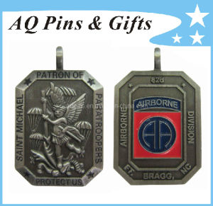 3D Military Medallion in Antique Plating pictures & photos