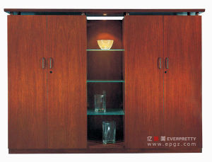 Modern Office Cupboard Filing Cabinet with Sliding Doors & Shutters pictures & photos