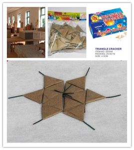 Triangle Cracker Firecracker Wholesale Fireworks pictures & photos