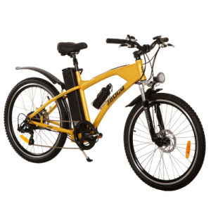 En15194/CE Alluminum Alloy & Lithium Battery Electric Mountain Bike (JB-TDE01Z) pictures & photos