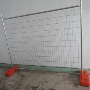 Hot dipped Galvanized Temporary Fence pictures & photos