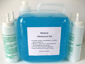 Ultrasound Gel/Ultrasonic Gel/ECG Gel/Aquasonic Ultrasound Gel pictures & photos