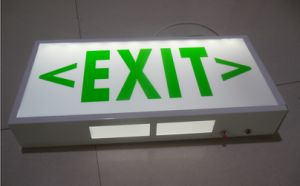 Fire Emergency Exit Sign Light