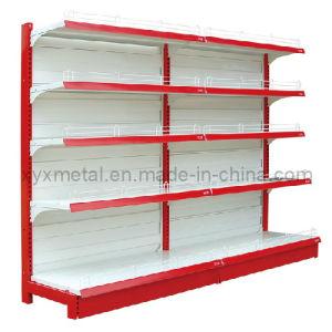 Supermarket Shelf Hypermarket Gondola Shelving Shop Fitting Metal Display Shelves pictures & photos
