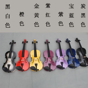 Colourful Violin (#V021)