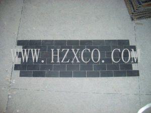 Black Basalt/Dark Grey Basalt Mosaic/Granite/Marble/Slate/Quartz/Batticino/Emperador/Statuario/Travertine Mosaic pictures & photos
