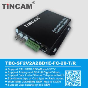 Video Over Fiber Converter Optical Transmitter and Receiver
