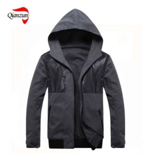 2013 Autumn Mens Casual Fleece Jacket (ZJ-6910) pictures & photos