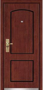 Steel Wooden Armored Door (YF-G9020) pictures & photos