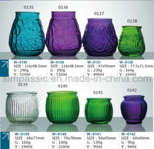 Candle Jar / Candle Holder / Candle Bottle / T-Light Holder (color spray) pictures & photos
