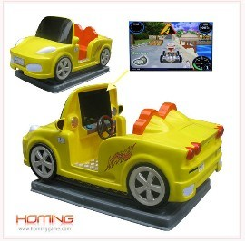 Funny Racing Car Kiddie Rides Game Equipment (HomingGame-COM-KR-012)