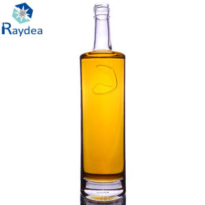High-End Straight Round 750ml Glass Bottle pictures & photos