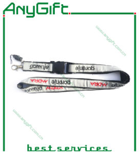 Woven Lanyard with Customized Logo (LAG-LY-10) pictures & photos