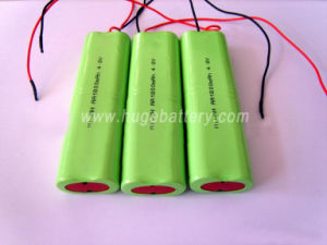 AA 1800mAh 4.8V NiMH Rechargeable Battery Pack pictures & photos