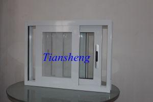 Double Glazing Aluminium Sliding Window with Crimsafe Screen pictures & photos