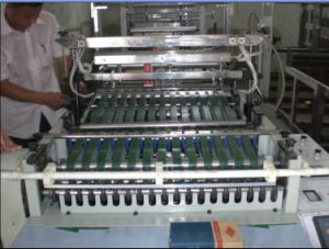 Two Line T-Shirt Bag Making Machine (DFHQ-450X2) pictures & photos