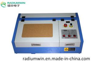 Mini Laser Jade Crystal Engraving Machine 3020 Laser Stamp Making Machine pictures & photos