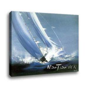 Landscape Oil Painting - Yacht (DG050)