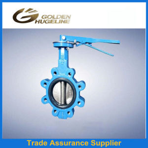 DIN2532 Pn16 Wafer Flange Butterfly Valves pictures & photos