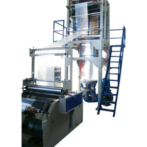 Rotary Die Head Double Winder Film Blowing Machine (SJ-55) pictures & photos