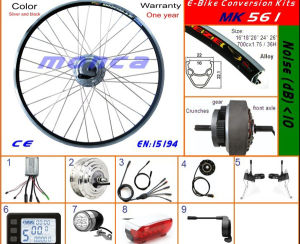 Electric Bike Kit with 250W Front DC Hub Motor Wheel Kit pictures & photos