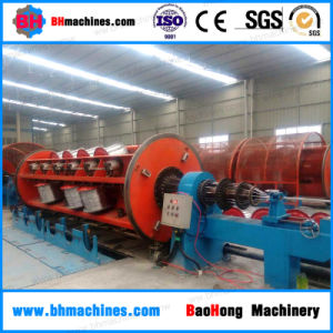 Aluminum-Alloy Conductor Wire Rigid Frame Stranding Machine pictures & photos