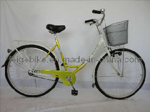 Rear Coaster Brake Classic Bike City Bicycle (FP-TRDB-S040) pictures & photos