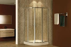 Caml 800*800 Sector Sliding Shower Enclosure/Shower Door/Shower Room (FGS201)