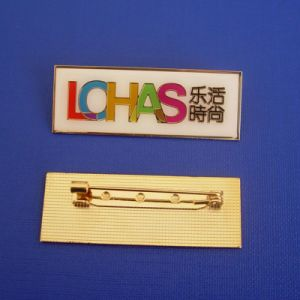Name Soft Enamel Pin, Custom Badges (GZHY-SE-034) pictures & photos