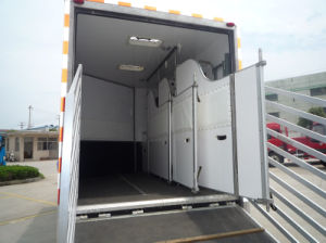 3Horse Trailer Deluxe With Sandwich Material pictures & photos
