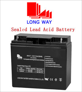 12 Volt Computers Sealed Rechargeable Lead-Acid Battery 12V17ah/20hr