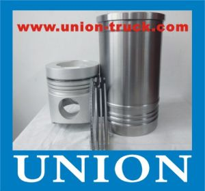 Isuzu a-6rb1tqa Engine Parts Piston Kit for Hitachi Excavcator Ex400-3 pictures & photos